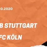 VfB Stuttgart – 1. FC Köln Tipp 23.10.2020