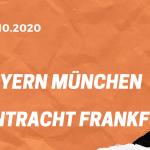 FC Bayern München – Eintracht Frankfurt Tipp 24.10.2020