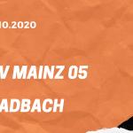1.FSV Mainz 05 – Borussia Mönchengladbach Tipp 24.10.2020