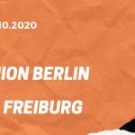 1.FC Union Berlin – SC Freiburg Tipp 24.10.2020