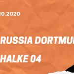 Borussia Dortmund – FC Schalke 04 Tipp 24.10.2020