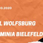 VfL Wolfsburg – Arminia Bielefeld Tipp 25.10.2020
