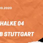 FC Schalke 04 - VfB Stuttgart Tipp 30.10.2020