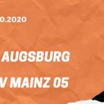 FC Augsburg – 1. FSV Mainz 05 Tipp 31.10.2020 Bundesliga