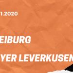SC Freiburg – Bayer 04 Leverkusen Tipp 01.11.2020