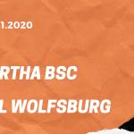 Hertha BSC – VfL Wolfsburg Tipp 01.11.2020