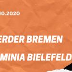 SV Werder Bremen – Arminia Bielefeld Tipp 03.10.2020
