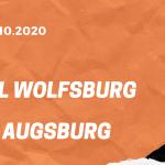 VfL Wolfsburg - FC Augsburg Tipp 04.10.2020