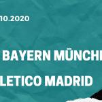 FC Bayern München – Atletico Madrid Tipp 21.10.2020