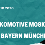 Lokomotive Moskau – FC Bayern München Tipp 27.10.2020
