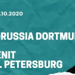 Borussia Dortmund – Zenit St. Petersburg Tipp 28.10.2020