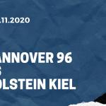 Hannover 96 - Holstein Kiel Tipp 29.11.2020