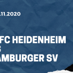 1. FC Heidenheim - Hamburger SV Tipp 29.11.2020