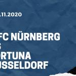 1. FC Nürnberg - Fortuna Düsseldorf Tipp 07.11.2020
