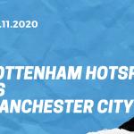 Tottenham Hotspur - Manchester City Tipp 21.11.2020