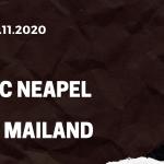 SSC Neapel - AC Mailand Tipp 22.11.2020