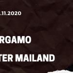 Atalanta Bergamo - Inter Mailand Tipp 08.11.2020