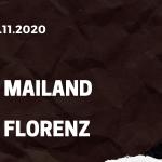 AC Mailand - AC Florenz Tipp 29.11.2020