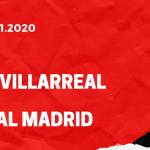 FC Villarreal - Real Madrid Tipp 21.11.2020