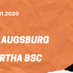FC Augsburg – Hertha BSC Tipp 07.11.2020