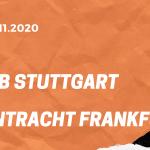 VfB Stuttgart – Eintracht Frankfurt Tipp 07.11.2020