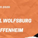 VfL Wolfsburg – TSG 1899 Hoffenheim Tipp 08.11.2020