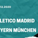 Atletico Madrid – Bayern München Tipp 01.12.2020