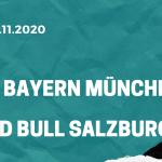 FC Bayern München - Red Bull Salzburg Tipp 25.11.2020
