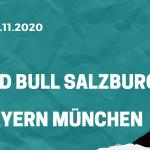Red Bull Salzburg - Bayern München Tipp 03.11.2020