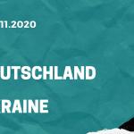 Deutschland – Ukraine Tipp 14.11.2020