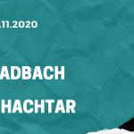 Borussia Mönchenglabdach – Schachtar Donezk Tipp 25.11.2020