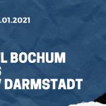 VfL Bochum - SV Darmstadt 98 Tipp 02.01.2021