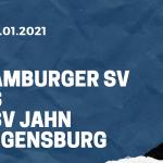Hamburger SV - SSV Jahn Regensburg Tipp 03.01.2021