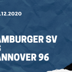 Hamburger SV - Hannover 96 Tipp 05.12.2020