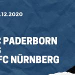 SC Paderborn - 1. FC Nürnberg Tipp 06.12.2020