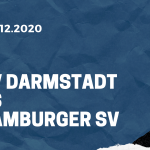 SV Darmstadt 98 - Hamburger SV Tipp 12.12.2020