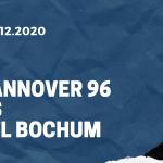 Hannover 96 - VfL Bochum Tipp 15.12.2020