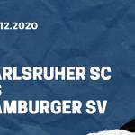 Karlsruher SC - Hamburger SV Tipp 21.12.2020