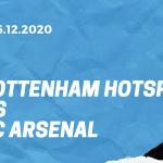 Tottenham Hotspur - FC Arsenal Tipp 06.12.2020