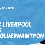 FC Liverpool - Wolverhampton Wanderers Tipp 06.12.2020