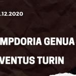Sampdoria Genua - AC Mailand Tipp 06.12.2020
