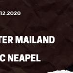 Inter Mailand - SSC Neapel Tipp 16.12.2020