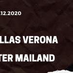Hellas Verona - Inter Mailand Tipp 23.12.2020