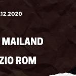 AC Mailand - Lazio Rom Tipp 23.12.2020