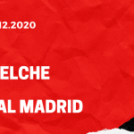 FC Elche - Real Madrid Tipp 30.12.2020