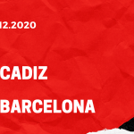 FC Cadiz - FC Barcelona Tipp 05.12.2020