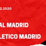 Real Madrid - Atletico Madrid Tipp 12.12.2020