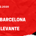 FC Barcelona - UD Levante Tipp 13.12.2020