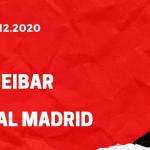 SD Eibar - Real Madrid Tipp 20.12.2020