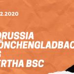 Borussia Mönchengladbach – Hertha BSC Tipp 12.12.2020